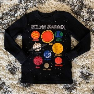 Space shirt size 4t
